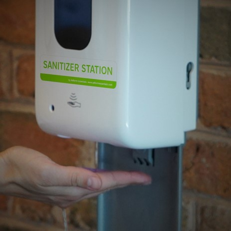 Hand Sanitizer Dispensers Not Child's Play